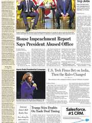 《The Wall Street Journal(WSJ)》2019年12月04日(华尔街日报)【PDF】