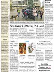 《The Wall Street Journal(WSJ)》2019年12月26日(华尔街日报)【PDF】
