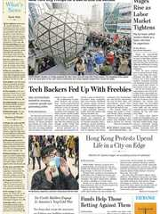 《The Wall Street Journal(WSJ)》2019年12月28-29日(华尔街日报)【PDF】