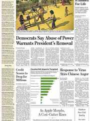 《The Wall Street Journal(WSJ)》2020年01月24日(华尔街日报)【PDF】