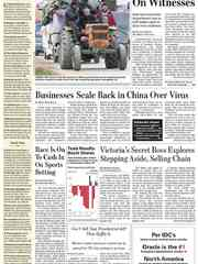 《The Wall Street Journal(WSJ)》2020年01月30日(华尔街日报)【PDF】
