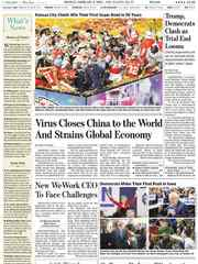 《The Wall Street Journal(WSJ)》2020年02月03日(华尔街日报)【PDF】