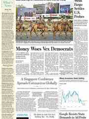 《The Wall Street Journal(WSJ)》2020年02月22-23日(华尔街日报)【PDF】