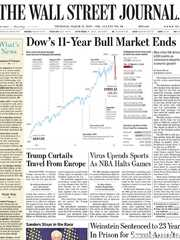 《The Wall Street Journal(WSJ)》2020年03月12日(华尔街日报)【PDF】