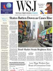 《The Wall Street Journal(WSJ)》2020年03月21&22日(华尔街日报)【PDF】