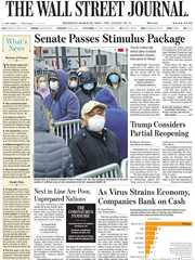 《The Wall Street Journal(WSJ)》2020年03月26日(华尔街日报)【PDF】