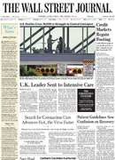 《The Wall Street Journal(WSJ)》2020年04月07日(华尔街日报)【PDF】