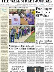 《The Wall Street Journal(WSJ)》2020年04月08日(华尔街日报)【PDF】