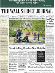 《The Wall Street Journal(WSJ)》2020年04月20日(华尔街日报)【PDF】
