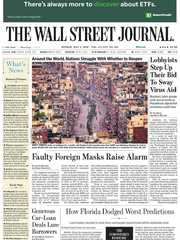 《The Wall Street Journal(WSJ)》2020年05月04日(华尔街日报)【PDF】