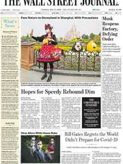 《The Wall Street Journal(WSJ)》2020年05月12日(华尔街日报)【PDF】