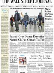 《The Wall Street Journal(WSJ)》2020年05月19日(华尔街日报)【PDF】