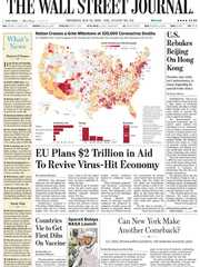 《The Wall Street Journal(WSJ)》2020年05月28日(华尔街日报)【PDF】