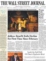 《The Wall Street Journal(WSJ)》2020年05月29日(华尔街日报)【PDF】