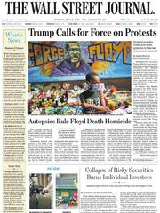《The Wall Street Journal(WSJ)》2020年06月02日(华尔街日报)【PDF】