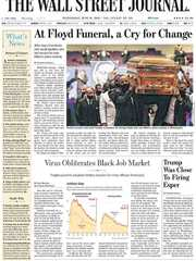 《The Wall Street Journal(WSJ)》2020年06月10日(华尔街日报)【PDF】