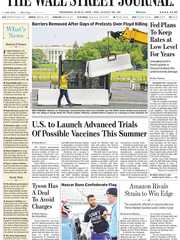 《The Wall Street Journal(WSJ)》2020年06月11日(华尔街日报)【PDF】