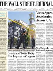 《The Wall Street Journal(WSJ)》2020年06月25日(华尔街日报)【PDF】