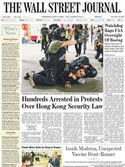 《The Wall Street Journal(WSJ)》2020年07月02日(华尔街日报)【PDF】