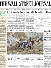 《The Wall Street Journal(WSJ)》2020年07月03日(华尔街日报)【PDF】
