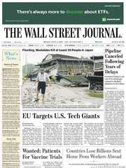 《The Wall Street Journal(WSJ)》2020年07月06日(华尔街日报)【PDF】