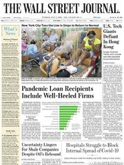 《The Wall Street Journal(WSJ)》2020年07月07日(华尔街日报)【PDF】