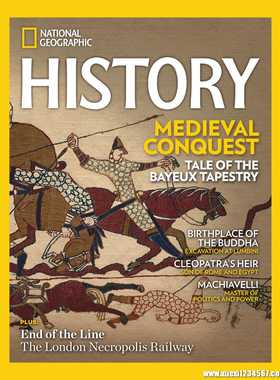 《National Geographic History》2020年09-10月(美国国家地理杂志·历史版-英文原版)【PDF】
