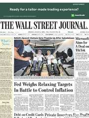 《The Wall Street Journal(WSJ)》2020年08月03日(华尔街日报)【PDF】