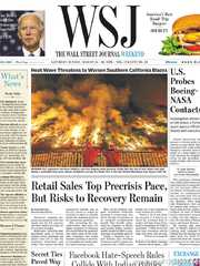 《The Wall Street Journal(WSJ)》2020年08月15&16日(华尔街日报)【PDF】