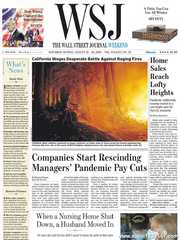 《The Wall Street Journal(WSJ)》2020年08月22&23日(华尔街日报)【PDF】