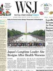 《The Wall Street Journal(WSJ)》2020年08月29&30日(华尔街日报)【PDF】