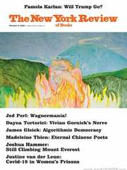 《The New York Review of Books》2020年10月08日(纽约书评杂志)【PDF】