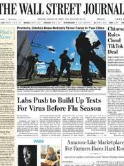 《The Wall Street Journal(WSJ)》2020年08月31日(华尔街日报)【PDF】