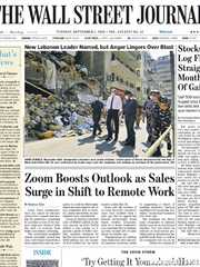 《The Wall Street Journal(WSJ)》2020年09月01日(华尔街日报)【PDF】