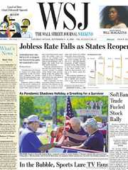 《The Wall Street Journal(WSJ)》2020年09月05&06日(华尔街日报)【PDF】