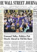 《The Wall Street Journal(WSJ)》2020年09月15日(华尔街日报)【PDF】