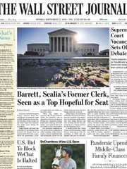 《The Wall Street Journal(WSJ)》2020年09月21日(华尔街日报)【PDF】