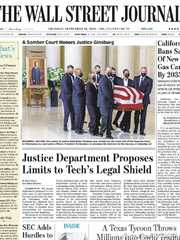 《The Wall Street Journal(WSJ)》2020年09月24日(华尔街日报)【PDF】