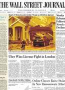 《The Wall Street Journal(WSJ)》2020年09月29日(华尔街日报)【PDF】