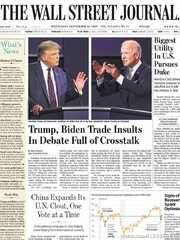《The Wall Street Journal(WSJ)》2020年09月30日(华尔街日报)【PDF】