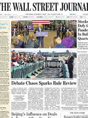《The Wall Street Journal(WSJ)》2020年10月01日(华尔街日报)【PDF】