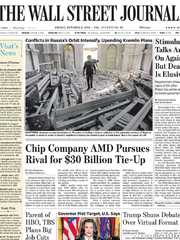 《The Wall Street Journal(WSJ)》2020年10月09日(华尔街日报)【PDF】