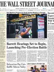 《The Wall Street Journal(WSJ)》2020年10月12日(华尔街日报)【PDF】
