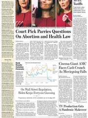 《The Wall Street Journal(WSJ)》2020年10月14日(华尔街日报)【PDF】