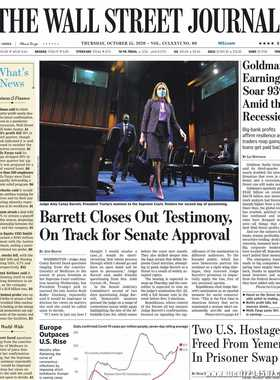 《The Wall Street Journal(WSJ)》2020年10月15日(华尔街日报)【PDF】