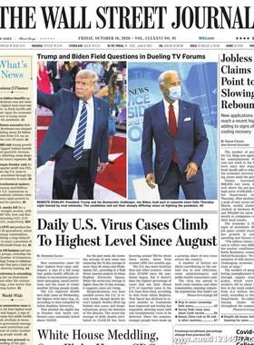 《The Wall Street Journal(WSJ)》2020年10月16日(华尔街日报)【PDF】