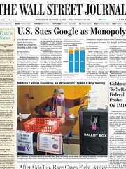 《The Wall Street Journal(WSJ)》2020年10月21日(华尔街日报)【PDF】