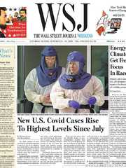 《The Wall Street Journal(WSJ)》2020年10月24&25日(华尔街日报)【PDF】