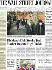 《The Wall Street Journal(WSJ)》2020年10月26日(华尔街日报)【PDF】