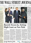 《The Wall Street Journal(WSJ)》2020年10月27日(华尔街日报)【PDF】